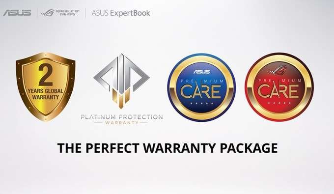 ASUS Platinum Protection Warranty