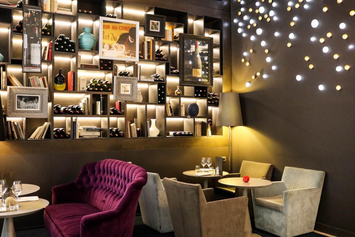 Interior Hotel Indigo Paris