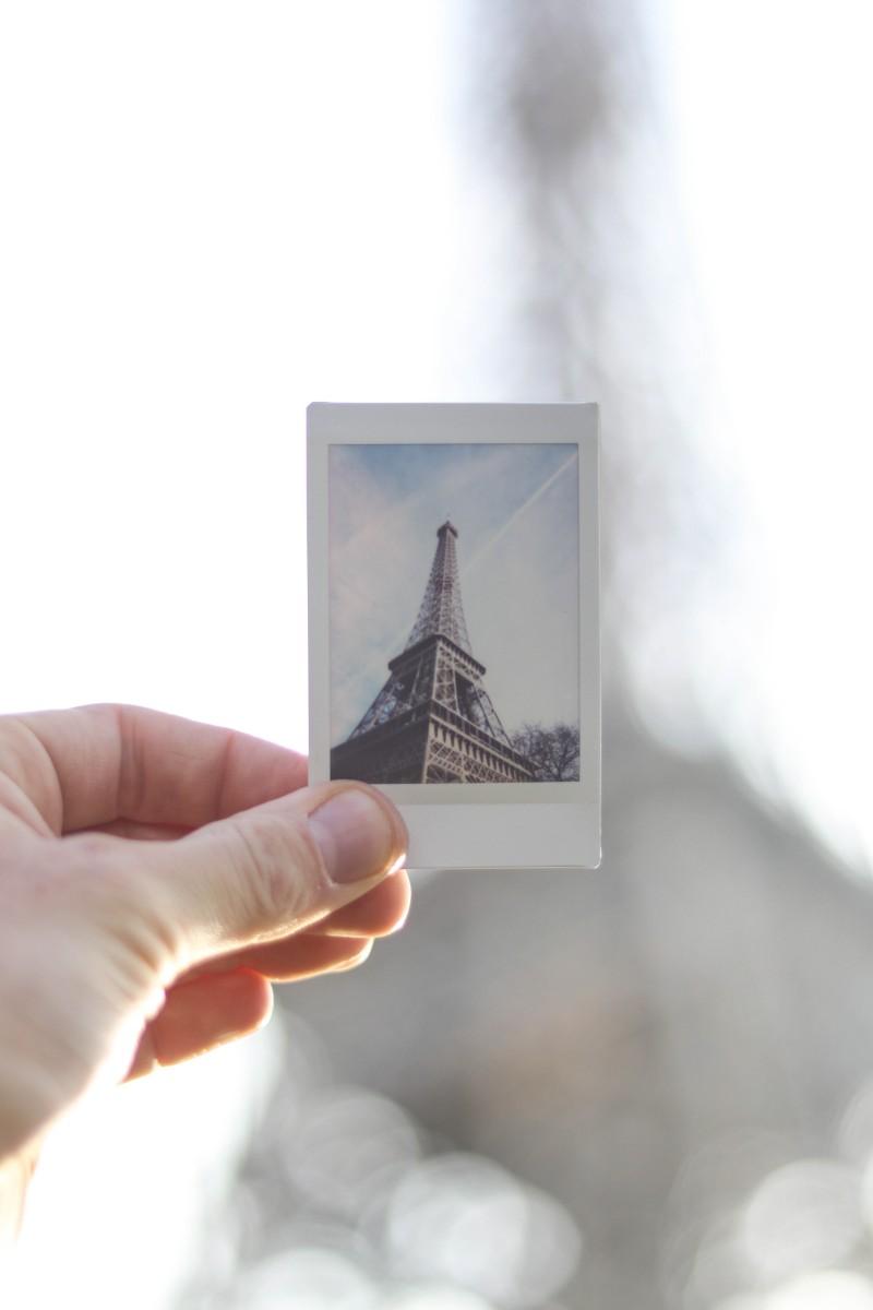 Instax Eiffel Tower