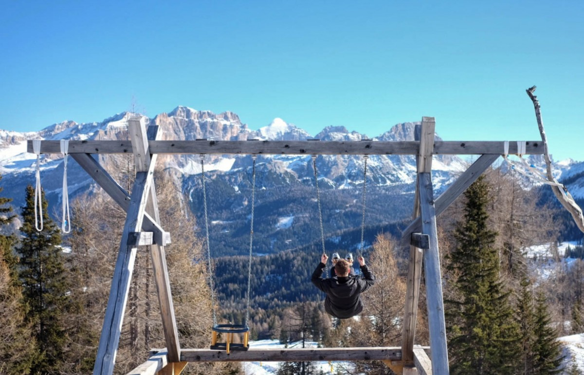 South Tyrol Skiing Alta Badia Swing