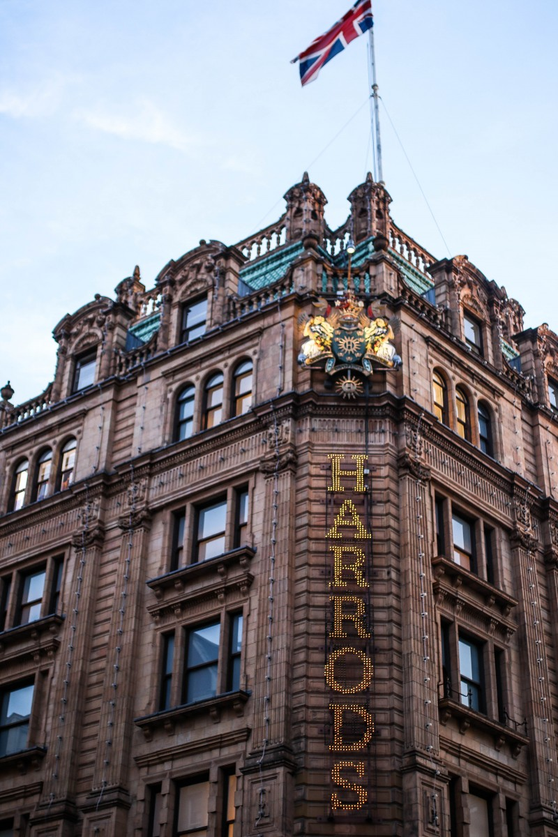 Christmas at Harrods | The Dolce & Gabbana Takeover