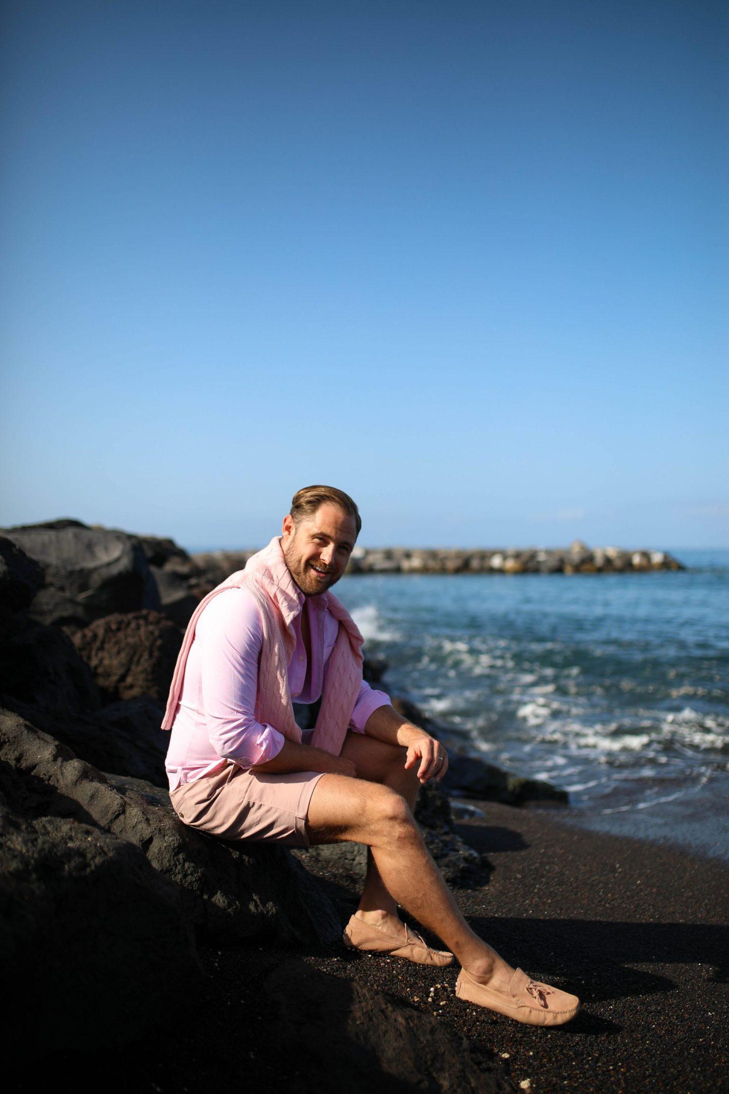 Tenerife Beach Black Sand