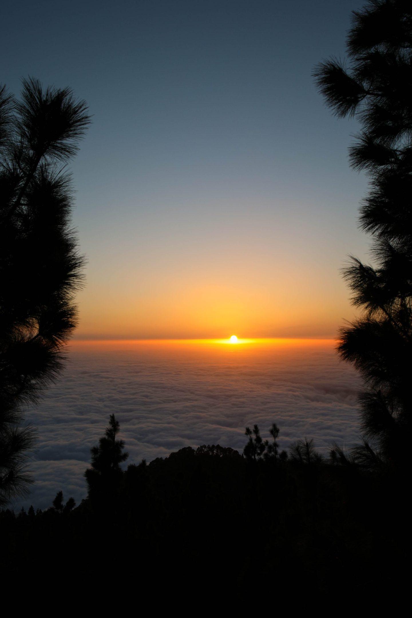 Teide National Park Tenerife Sunset