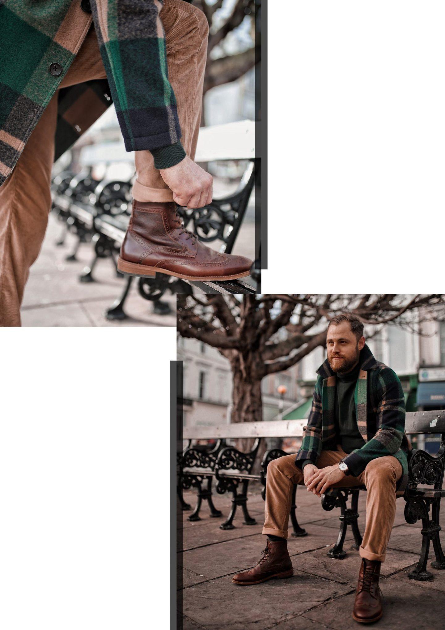 ASOS Coat Farah Menswear Chinos Barbour Boots Twenty First Century Gent