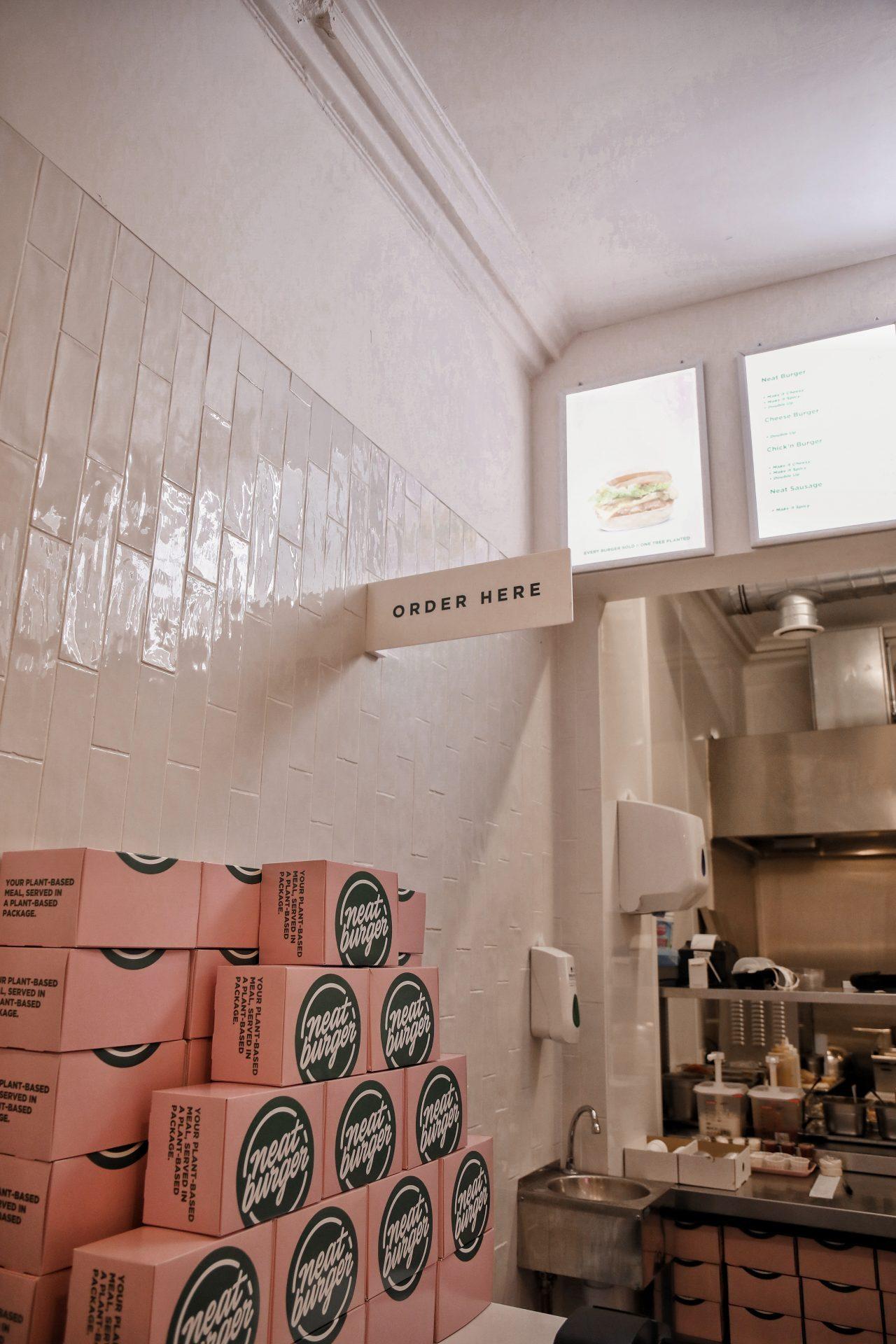 Neat Burger London Food Fast Food Plant Based