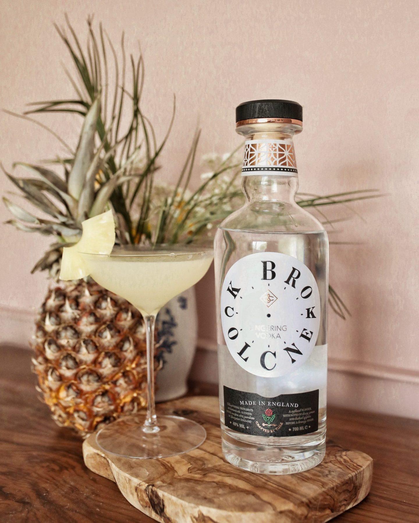 Broken Clock Vodka Pineapple Martini