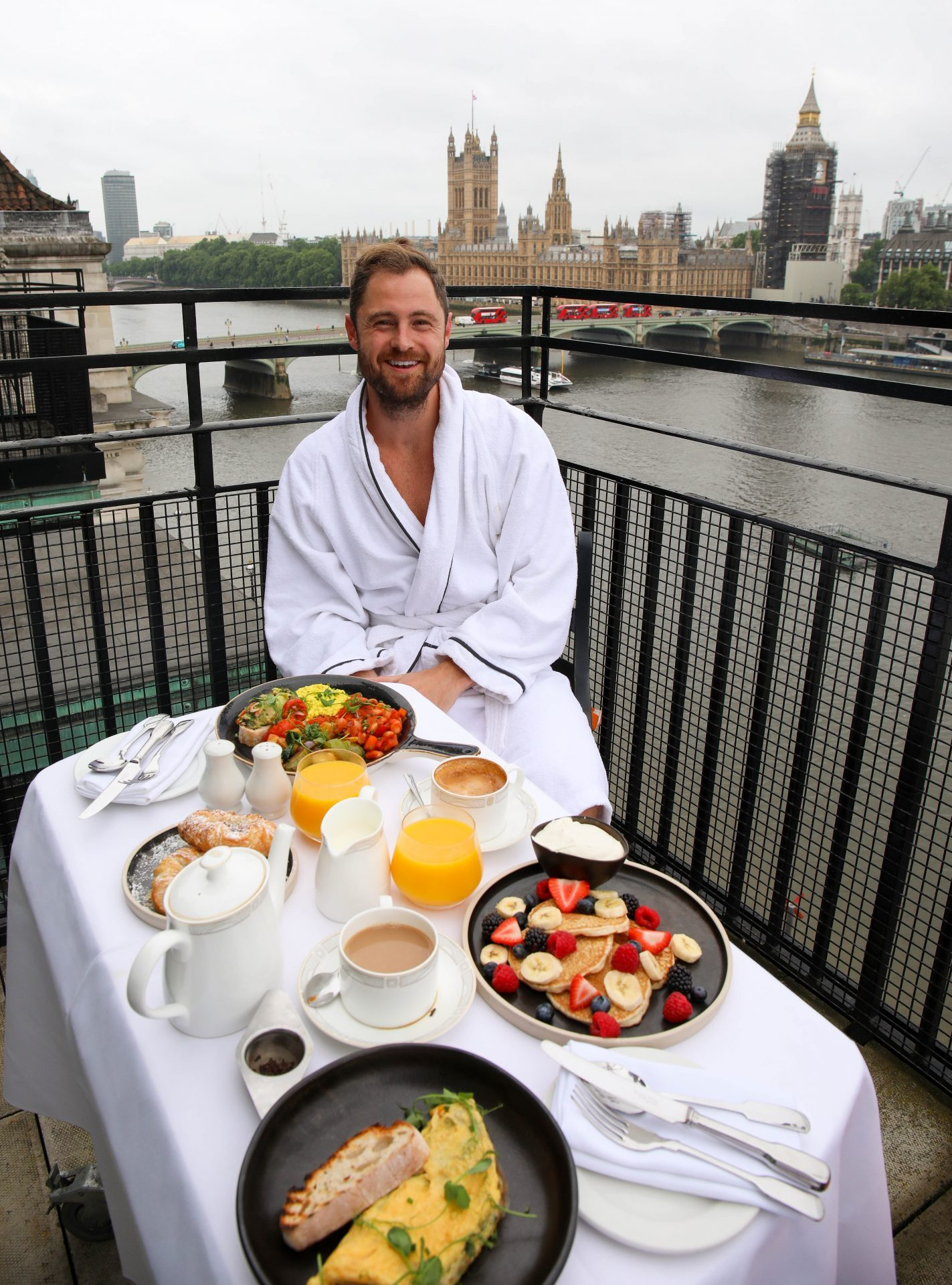 Marriott London County Hall Hotel Breakfast