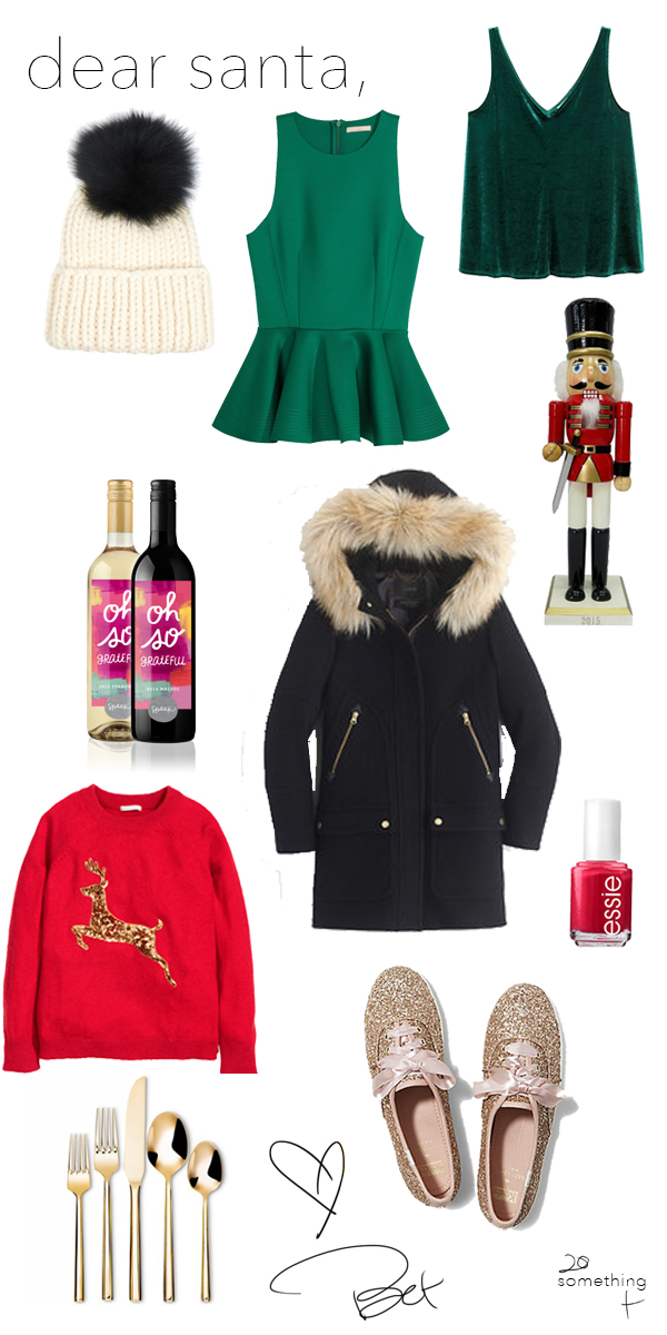 Holiday Spirit Wish List