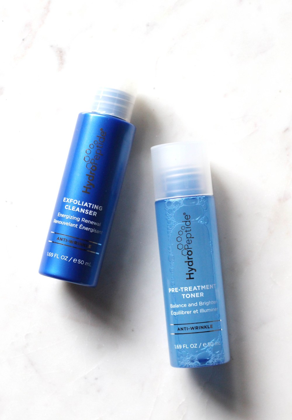 Exfoliating Cleanser and Pre-Treatment Toner