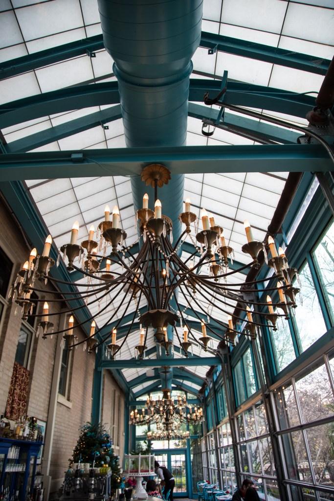 Ocho chandelier