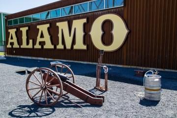 Alamo Beer Company Keg
