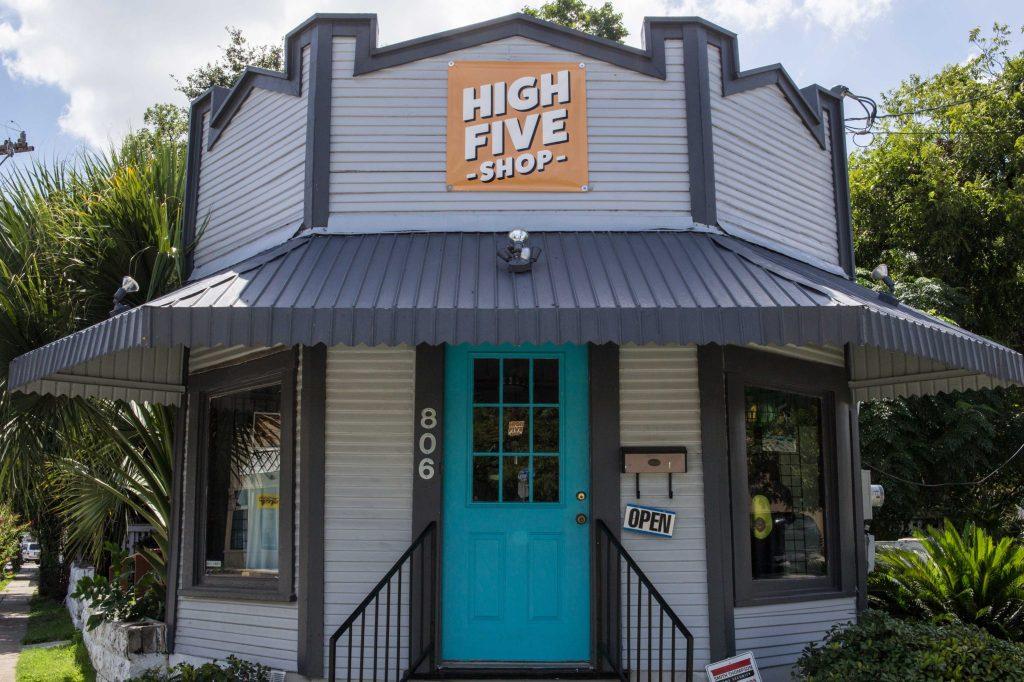 High Five Shop Exterior