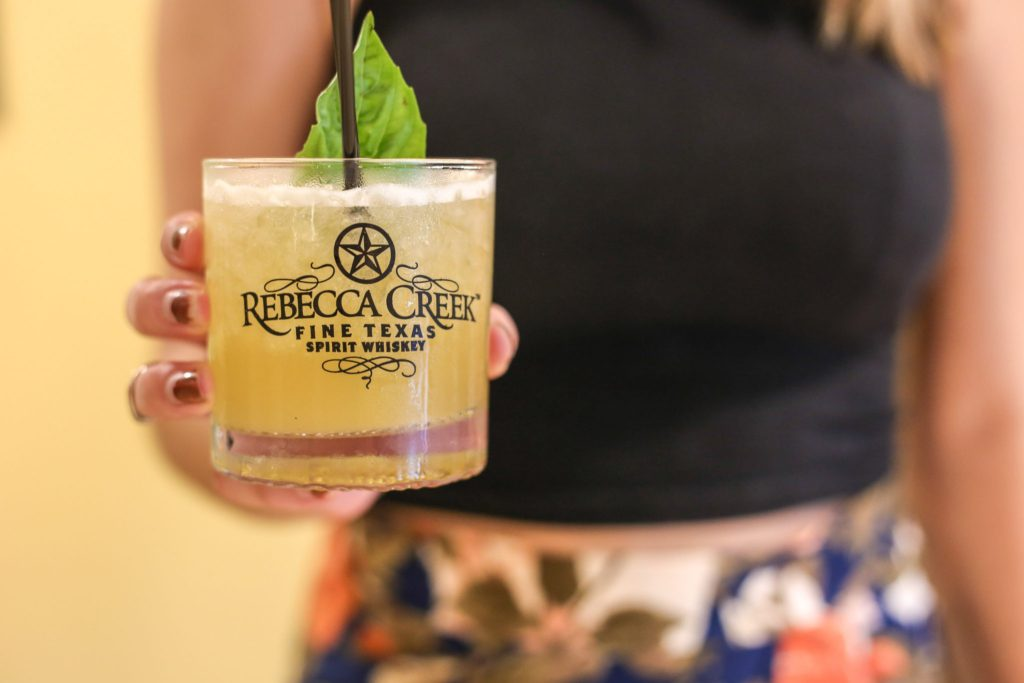 Rebecca Creek Whiskey Cocktail