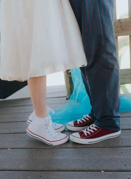 Doctor Who Themed Wedding Converse