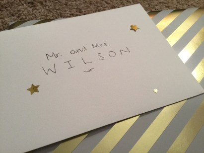 Doctor Who-Themed Wedding Card