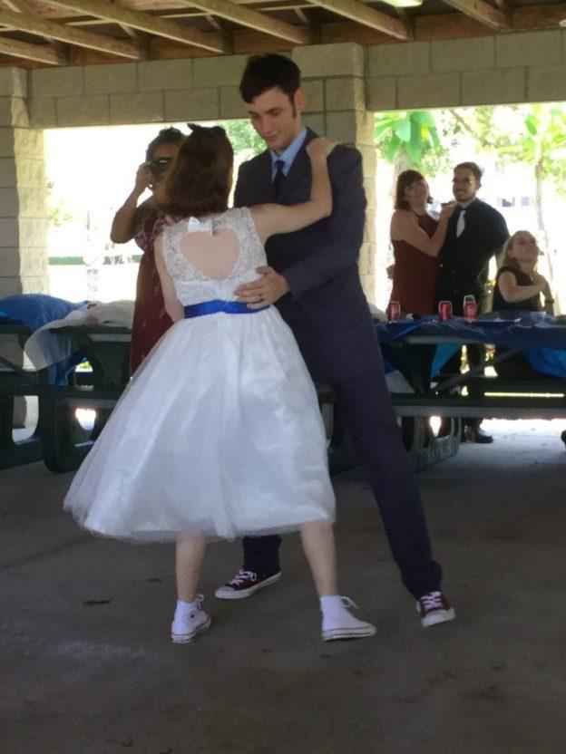Doctor Who-Themed Wedding Dance