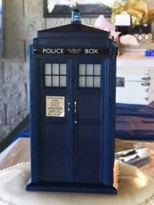 Twentysomething Vision TARDIS Doctor Who Wedding