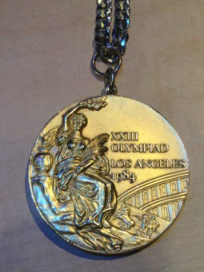 Rowdy Gaines Olympic Gold Medal FLBlogCon