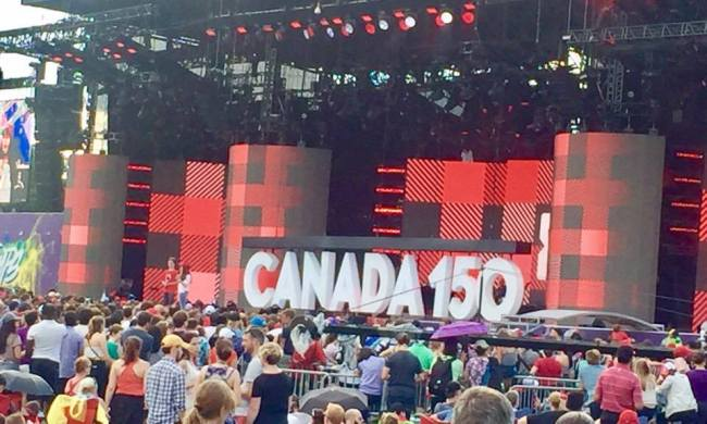 #CANADA150 WITH TELUS #MILLIONHOURS AT WE DAY CANADA