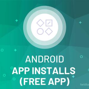 Buy Android App Installs (Free App)