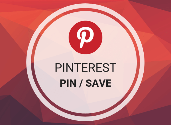 Pinterest Pin / Save