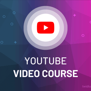 Buy Youtube Video Course