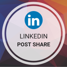 LinkedIn Shares - 150 LinkedIn Post Shares