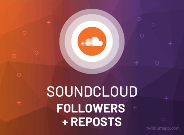 Buy Soundcloud Followers + Reposts