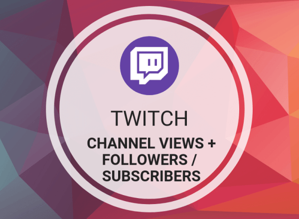 Twitch Channel Views + Followers/Subscribers