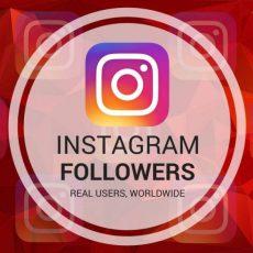 Instagram Followers - 250 Instagram Followers