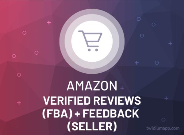 Buy Amazon Verified Reviews (FBA) + Feedback (Seller)