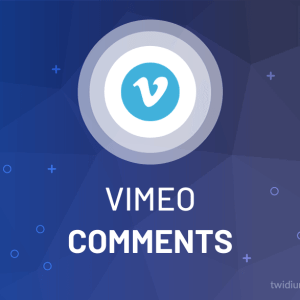 Buy Vimeo Comments (Custom)