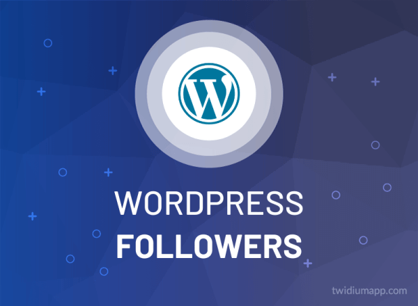 Buy WordPress Followers