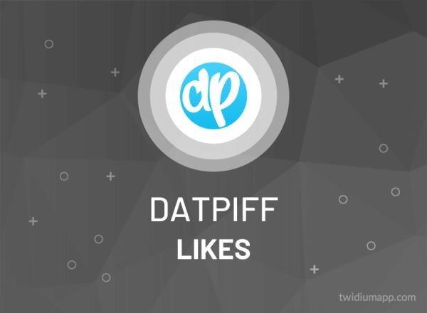 Buy Datpiff Likes
