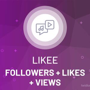 Buy Likee Followers + Likes + Views