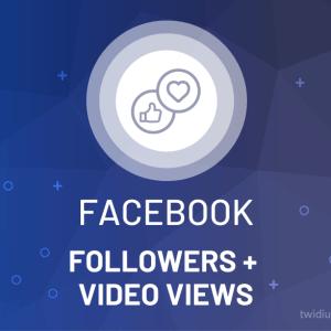 Buy Facebook Followers & Video Views