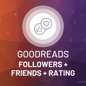 Buy Goodreads Followers, Friends & Rating