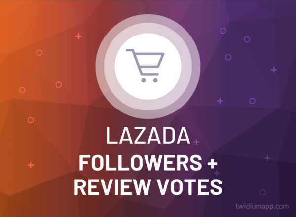 Buy Lazada Followers & Review Votes
