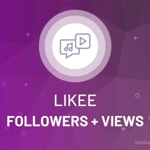 Buy Likee Followers + Views