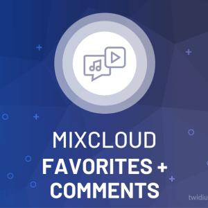 Buy Mixcloud Favorites + Comments