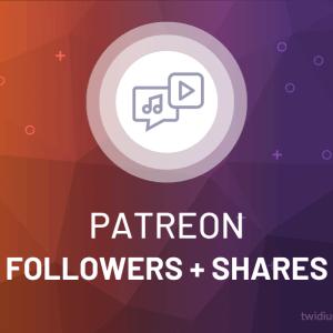 Buy Patreon Followers + Shares