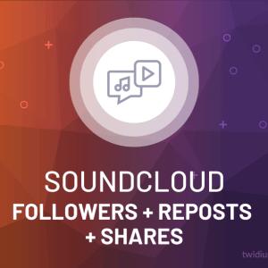 Buy SoundCloud Followers + Reposts + Shares