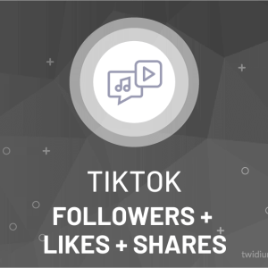 Buy TikTok Followers + Likes + Shares