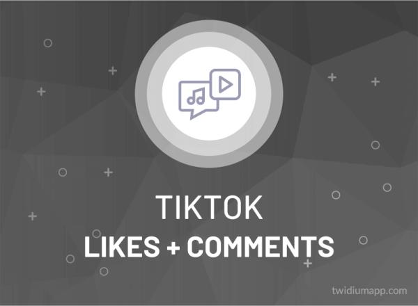Buy TikTok Likes + Comments