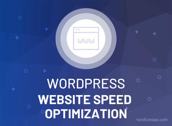 WordPress Website Speed Optimization