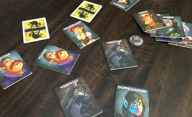 One Night Ultimate Werewolf: There are werewolves among the villagers, but also troublemakers and hunters and robbers and insomniacs and...