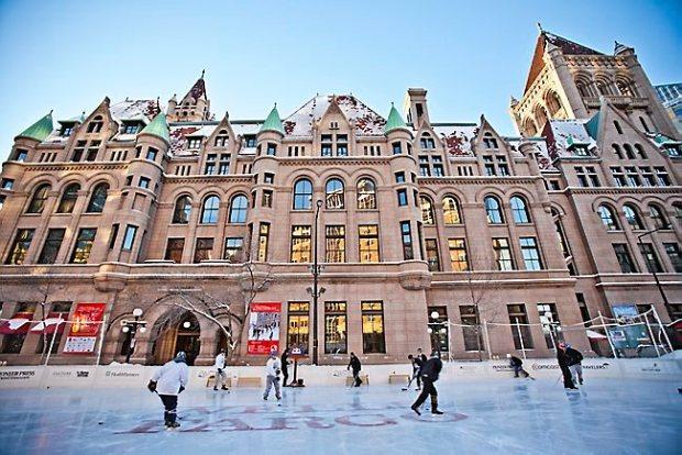 Wells Fargo Winter Skate at Landmark Plaza in St. Paul. (Courtesy photo)