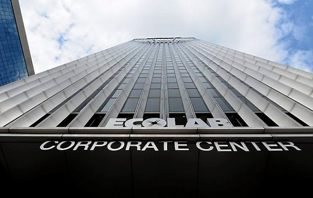 Ecolab in downtown St. Paul. (Pioneer Press: Jean Pieri)