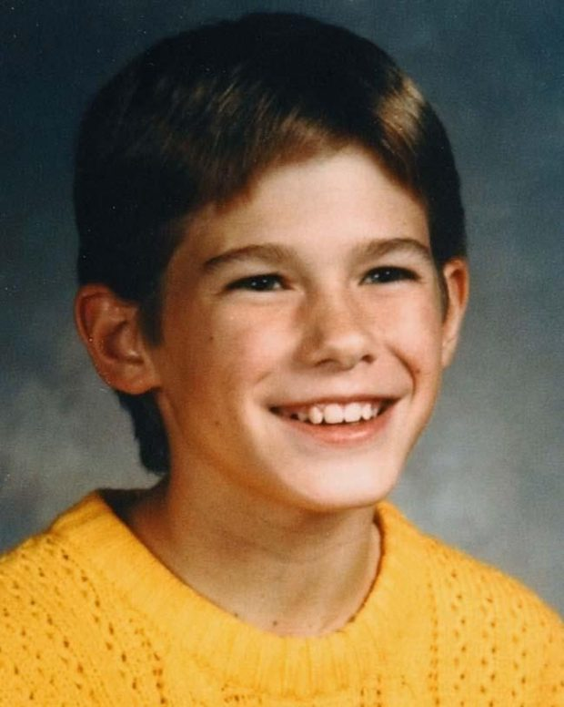 Jacob Wetterling in a 1989 family photo