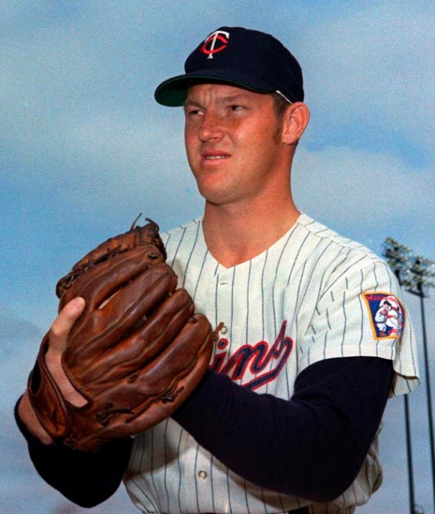 Twins pitcher Jim Kaat, in 1970. (AP Photo)